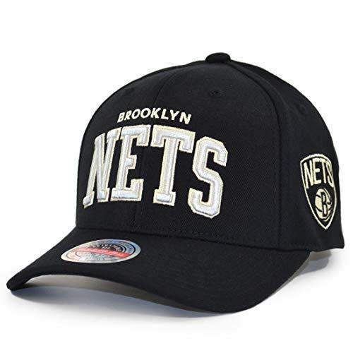 Mitchell & Ness The Champ Redline Brooklyn Nets - Gorra, color negro