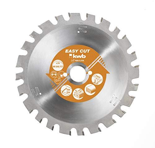 kwb 587133 Easy-Cut cirkelzaagblad, nagelbestendig, universeel zaagblad, HM Ø 200 x 16 mm speciale wisseltand 30 tanden Z-30, Made in Germany