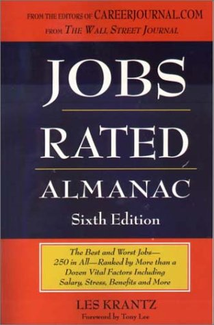 Jobs Rated Alamnac: The Best and Worst Jobs-250 In All - Ranked by More Than a Dozen Vital Factors Including Salary , Stress and More (JOBS RATED ALMANAC)