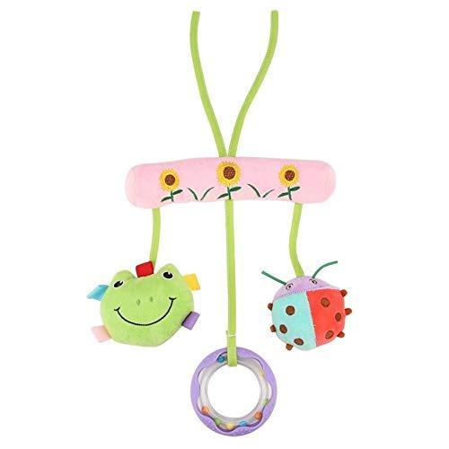 Rishx-toy Netter Baby-Spielzeug Soft-Musical Neugeborene Kinder Spielzeug Tierbaby-Mobile-Spaziergänger Spielzeug weicher Plüsch spielt Puppe for Bettutensilo (Color : A)