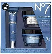 No#7 Lift & Luminate Skincare System, No#7 Lift & Luminate Triple Action Serum,Day Cream, Night Cream