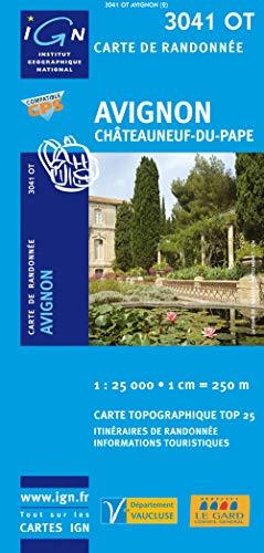 Preisvergleich Produktbild Avignon 1 : 25 000: Châteauneuf-du-Pape: IGN.3041OT (TOP 25)