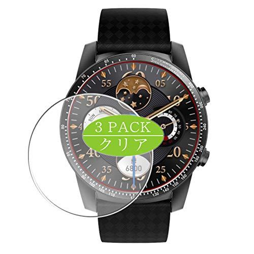 Vaxson 3 Stück Schutzfolie kompatibel mit Smartwatch smart Watch KW99 PRO, Displayschutzfolie Bildschirmschutz Blasenfreies TPU Folie [Nicht Panzerglas]