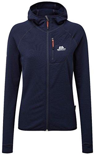 Mountain Equipment W Eclipse Hooded Jacket Blau, Damen Freizeitjacke, Größe M - 12 - Farbe Cosmos