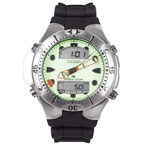 Relógio CITIZEN Aqualand masculino anadigi verde JP1060-01W