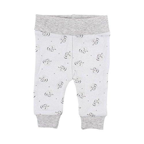 FIXONI LITTLE BEE Le pantalon pour prématuré à motif abeilles pantalon bébé, bleu ciel