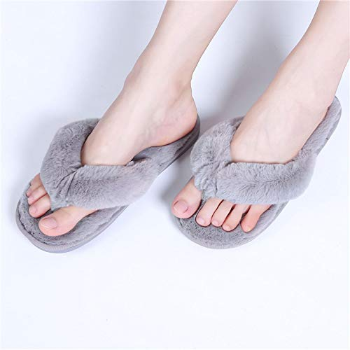 Zapatillas Invierno Zapatillas De Piel De Terciopelo Zapatillas De Mujer Zapatos Familiares Zapatos Cálidos De Cuero De Imitación Zapatos Planos De Mu