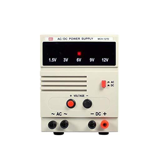 La conmutación variable Fuente de alimentación multi-posición regulada ajustable de tensión de salida fija de alta precisión MCH-127d AC DC herramienta experimental Escuela Mejoras eléctricas