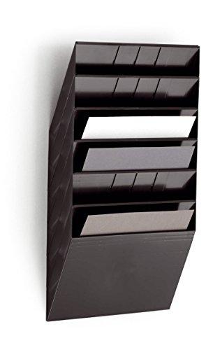 Durable 1709785060 Prospektspenderset (Querformat Flexiboxx 6 A4) 1 Set schwarz