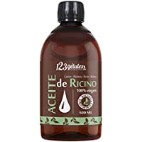 Aceite de Ricino 500 ml - 100% virgen - 1a presión en frío - Ricinus Communis