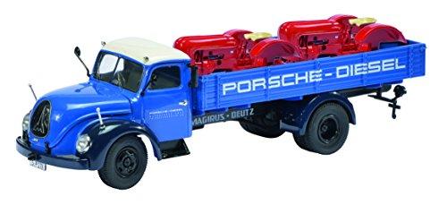 Schuco 450316700 - Magirus S6500 Porsche-Diesel Transporter, Maßstab 1:43