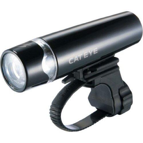 キャットアイ(CAT EYE) LEDヘッドライト UNO HL-EL010 ピアノブラック JIS前照灯規格適合品 電池式