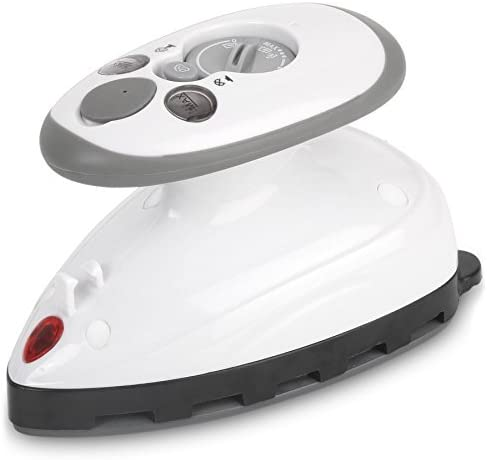 popular Small Mini lowest Iron - Dual Voltage Compact Design, Great for Travel - Non-Stick Ceramic Soleplate - Dry or Steam Ironing - Extra-Long Power Cord – Heats Rapidly in 15 popular Seconds outlet sale