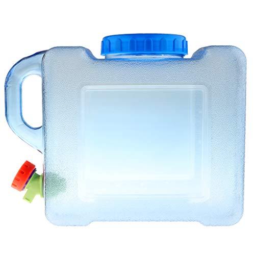 Hellery Recipiente Portador de Agua Dulce de 5 / 8L Resistente Y Resistente - Camping/Caravana - 5L
