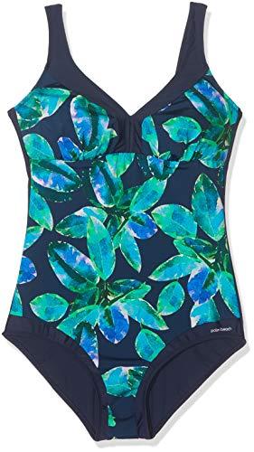 Palm Beach Damen Anzug Smeraldo Badeanzug, Blau (Blau/Grün Multicolor 7016), 80B (Herstellergröße: 40B)