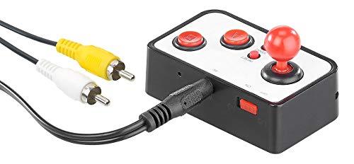 MGT Mobile Games Technology Spielekonsole: Retro-Videospiel-Controller mit 200 8-Bit-Games und TV-Anschluss (Retro Konsole)