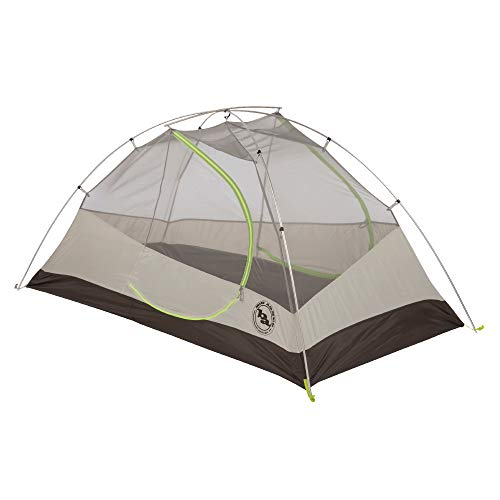 Big Agnes Blacktail 2 Package: Includes Tent and Footprint, Gray/Green, 2 Person