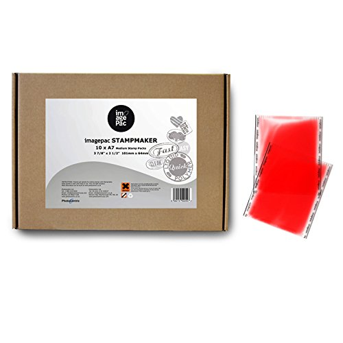 Imagepac Stampmaker IPMED10 Stamp Packs (10 Pack), 4 x 2.5