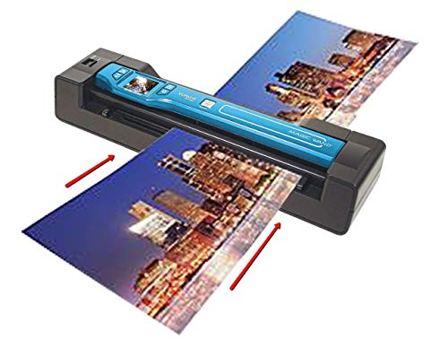 Vupoint Solutions Magic Wand with Portable Handheld Scanner & Auto-Feed Dock (PDSDK-ST470T-VP)