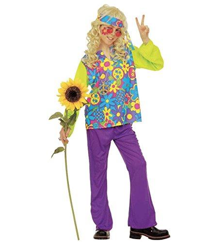 Widmann Déguisement hippie boy, en taille 11/13 ans
