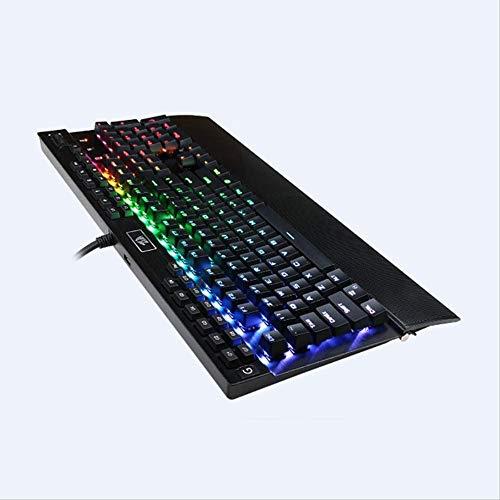 Kleurrijke Backlit Mechanisch toetsenbord Paars as Macro Programmeren Lol Game Bedraad toetsenbord