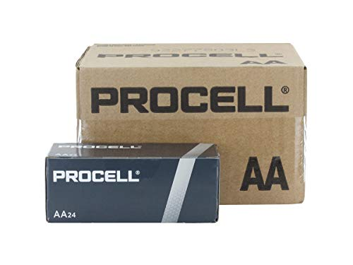 Duracell Procell AA Alkaline Battery - 144 per case.