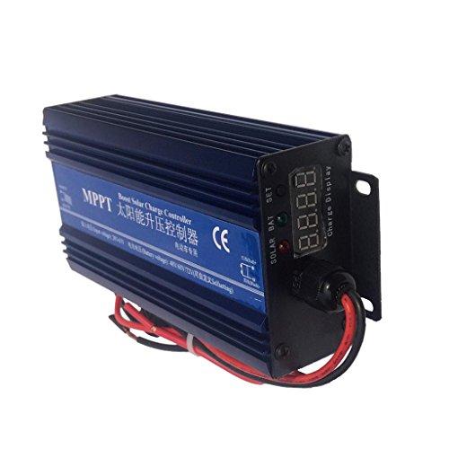 joyMerit Intelligente MPPT Boost Solarladeregler Panel Regler 48V 72V IP30