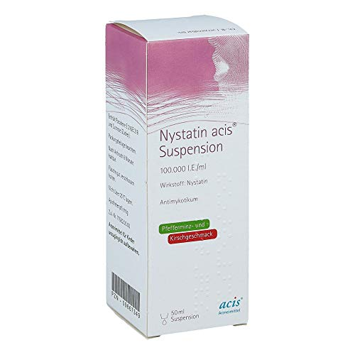 NYSTATIN acis Suspension 50 ml