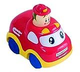 Bieco 19-002701P - Push and Go Polizei-Auto, Babys erster Superflitzer -
