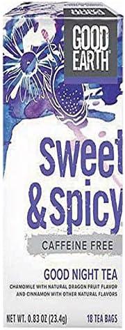 Good Earth Sweet Spicy Good Night Tea 18 Count Tea Bags product image