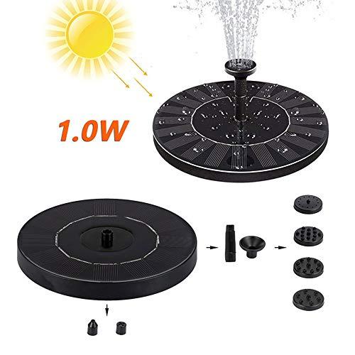 Qnotici Bomba de Agua Solar Fuente Jardín Paisaje Fuente pequeña