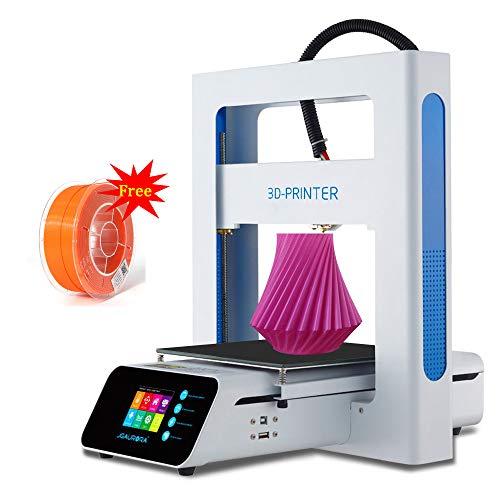 ZIHENGUO Imprimante A3S 3D, kit d'impression Bricolage, Taille de Construction 205 * 205 * 205mm de Haute précision d'assemblage Facile entièrement en métal avec des Cadeaux gratuits