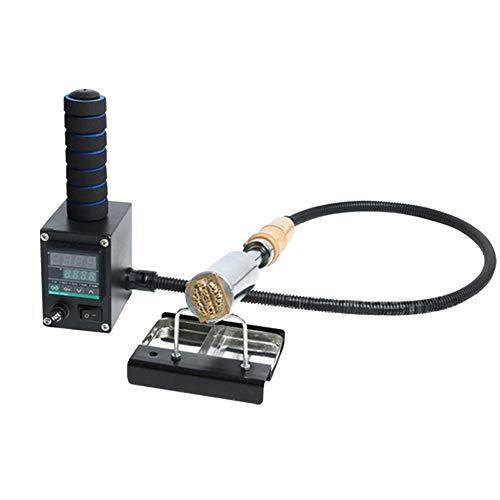 FDYD Mannual de Mano 300W eléctrico de Soldadura de Hierro Estampación en Caliente de la máquina de grabación en Relieve del Logotipo de la Hoja Que Estampa con la Insignia de Encargo Libre Sello