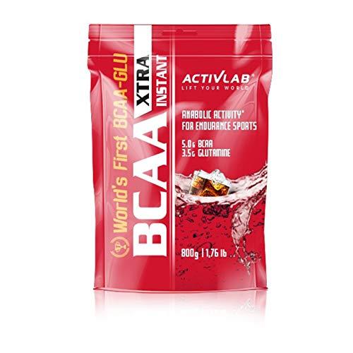 Activlab BCAA Xtra Instant 1 paquete x 800 g Leucina Isoleucina Valina Aminoácidos de cadena ramificada Regeneración muscular (Watermelon)