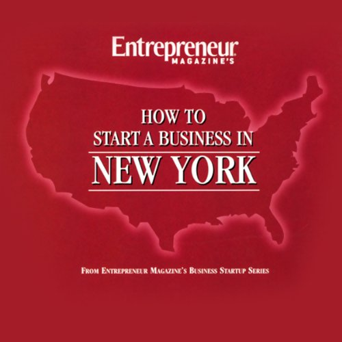How to Start a Business in New York audiobook cover art