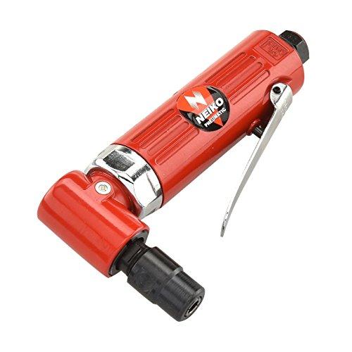 NEIKO 30060A 1 | 4 공기 직각 다이 그라인더 | 20 000 RPM | 4 CFM 소비 | 후방 배출 | 권총 그립
