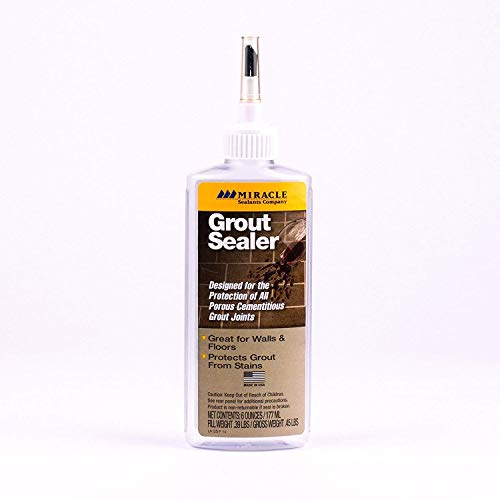 Miracle Sealants GRT SLR, Grout Sealer, 6 oz.