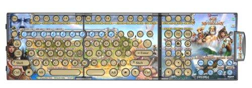 Zboard Keyboard Gaming Interface for Age of Mythology