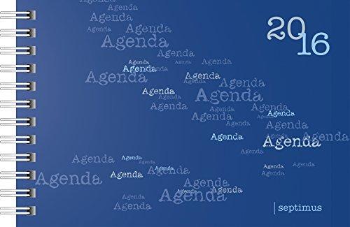 rido/idé Taschenkalender septimus Agenda Kalendarium 2016 Wire-O-Bindung (7017105)