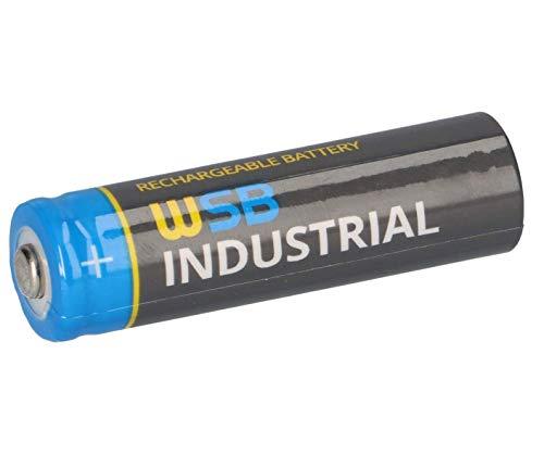 WSB Akku SOLAR Mignon AA wiederaufladbare Batterien 3,2V 1,92Wh LiFePo4 Hochleistungs- Akku Batterie speziell für Solarlampen Solar Lichterkette Solarleuchte Leuchten