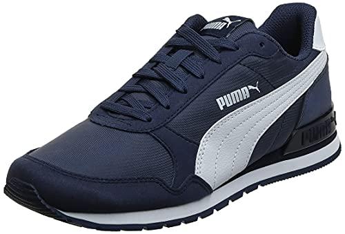 Puma ST Runner v2 NL, Zapatillas de Deporte Unisex Adulto, Peacoat White, 45 EU