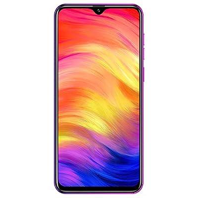 "Ulefone Note 7 (2019) GSM 3G Unlocked Smartphone, Triple Rear Camera, Triple Card Slots, 6.1"" Waterdrop Incell Full- Screen Dual SIM Unlocked Cell Phones, 3500mAh, Face Unlock, Android 9.0 - Twilight"