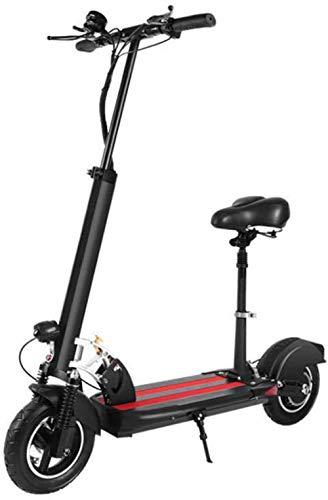 Scooter eléctrico Plegable y Ajustable con Asiento 500W 48V 40km / h...