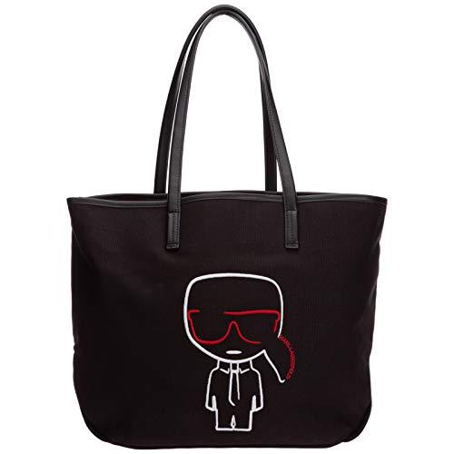 Karl Lagerfeld damen k/ikonik Shopping Bag black