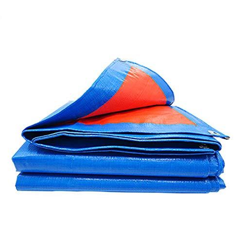 HCYTPL luifel waterdicht Heavy Duty zeil 160 g/m2 Ground Cover Sheet – 100% waterdicht, duurzaam, UV-bestendig met ogen, 0,28 mm dik