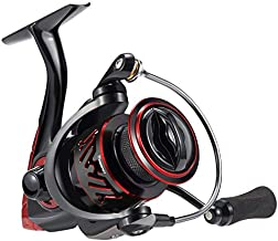 Piscifun Honor XT Fishing Reel - New Spinning Reel - 5.2:1, 6.2:1 High Speed Gear Ratio - 10+1 Stainless Steel Bearings - Freshwater and Saltwater Spinning Fishing Reels (Size 3000