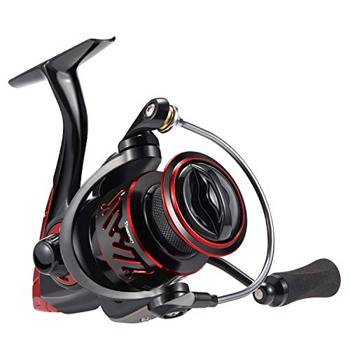 Piscifun Honor XT Fishing Reel - New Spinning Reel - 5.2:1, 6.2:1 High Speed Gear Ratio - 10+1 Stainless Steel Bearings - Freshwater and Saltwater Spinning Fishing Reels (Size 2000