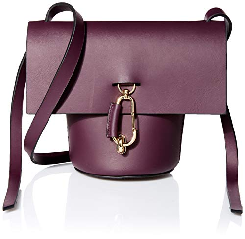 Leather: Calfskin Architectural design, Gold-tone hardware Length: 5.5in / 14cm Height: 7in / 18cm Dust bag included