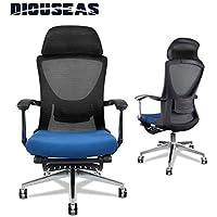 Diouseas A3092 Ergonomic Reclining Mesh Office Chair (Blue)