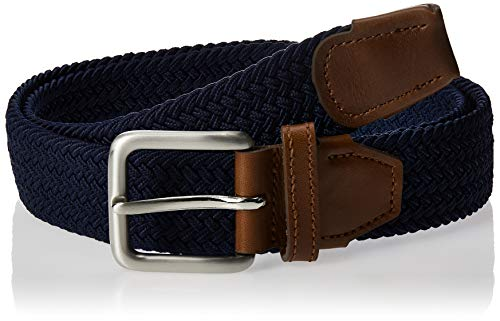 Jack & Jones NOS Herren Gürtel Jacspring Woven Belt Noos, Blau (Navy Blazer Navy Blazer), 90